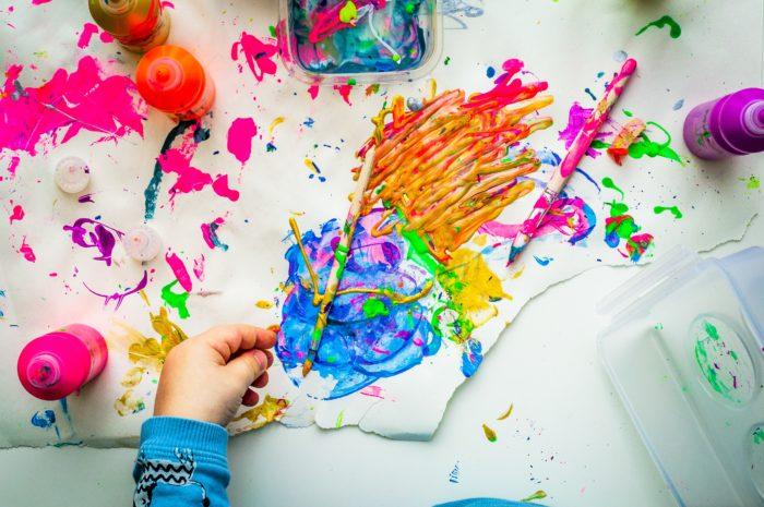 Accompagnement psychologique enfant et adolescent : peinture